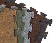 8mm Carpet/Rubber Tiles - Signature Series