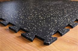 "3/8"" Tight-Lock Rubber Tiles"