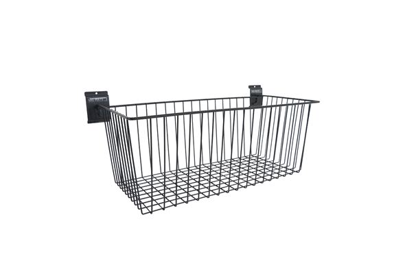 "Ulti-MATE Garage Slat Wall Strip ""Large Basket"""