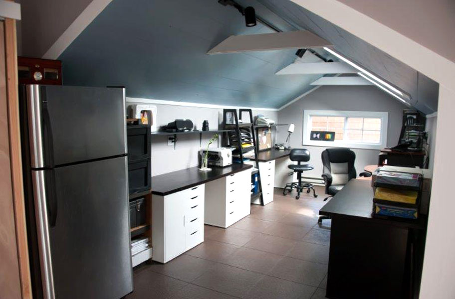 Slate Flex Tiles Modular Garage Flooring System