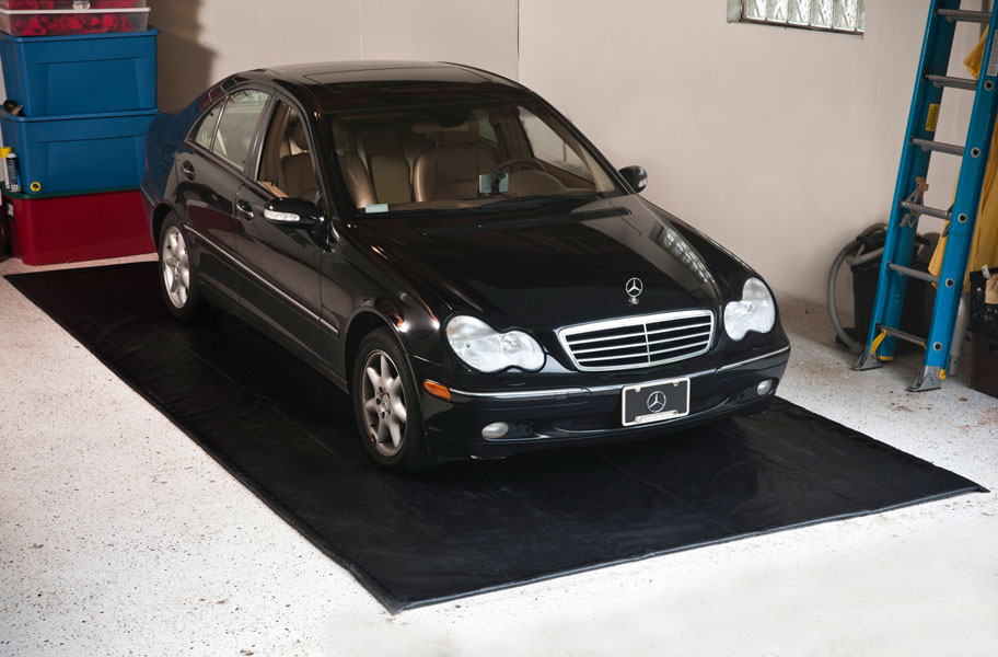 Auto Floor Guard Low Cost Garage Floor Containment Mats