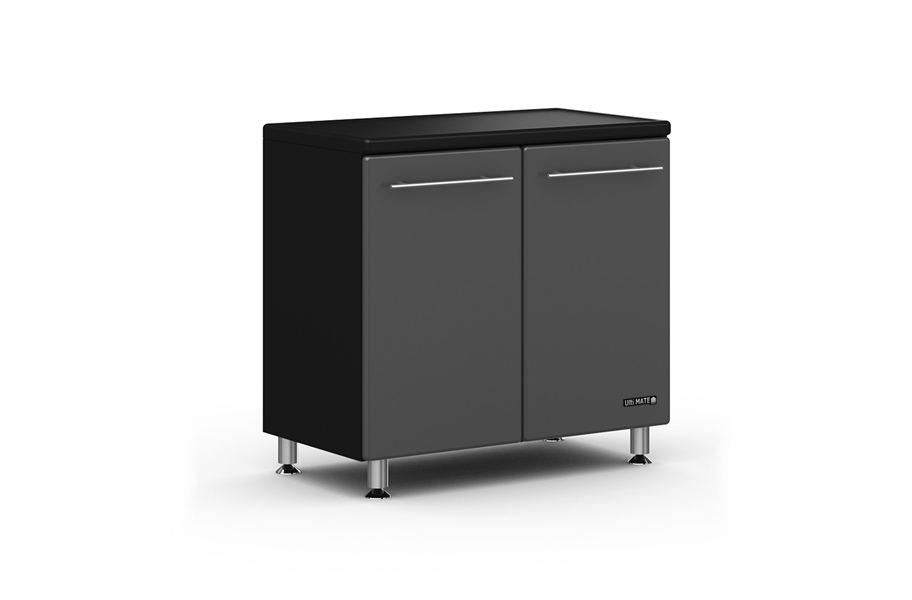 Ulti Mate 2 Door Base Cabinet Starter Garage Storage System