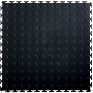 Black 7mm Coin Flex Tiles