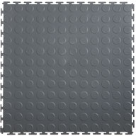 Dark Grey 7mm Coin Flex Tiles