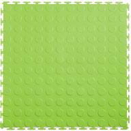 Light Green 7mm Coin Flex Tiles