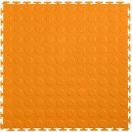 Orange 7mm Coin Flex Tiles