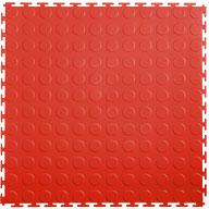 Red 7mm Coin Flex Tiles