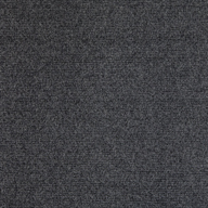 Black IcePremium Ribbed Carpet Tiles