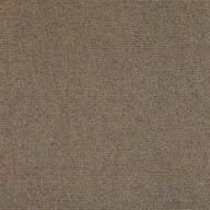 ChestnutPremium Ribbed Carpet Tiles
