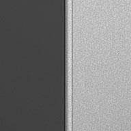 Matte Silver and Grey Ulti-MATE Garage Pro 5-Piece Wall Cabinet Kit