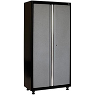 Black/Multi Granite American Heritage 2-Door Tall Cabinet