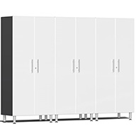 Starfire White Metallic Ulti-MATE Garage 2.0 Series 3-PC Tall Cabinet Kit