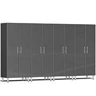 Graphite Gray Metallic UG22640GUlti-MATE Garage 2.0 4-PC Tall Cabinet Kit