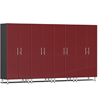 Ruby Red Metallic UG22640RUlti-MATE Garage 2.0 4-PC Tall Cabinet Kit