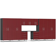 Ruby Red MetallicUlti-MATE Garage 2.0 Series 10-PC Kit