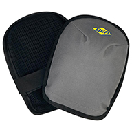Grey/BlackWashable Knee Pads