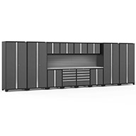 Gray / Steel 58571NewAge Pro Series 14-PC Cabinet Set