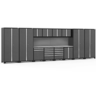 Gray / Steel V2 58559NewAge Pro Series 14-PC Cabinet Set