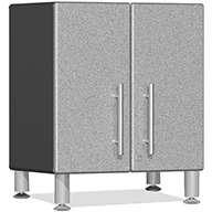 Stardust Silver Metallic UG21309SUlti-MATE Garage 2.0 2-Door Small Base Cabinet