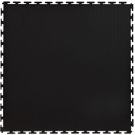 Black 7mm Smooth Flex Tiles