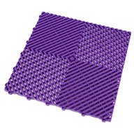 Cosmic PurpleSwisstrax Garage Tiles