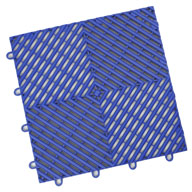 Shelby BlueVented Grid-Loc Tiles™
