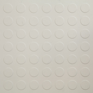 White6.5mm Coin Flex Tiles