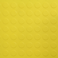 Yellow6.5mm Coin Flex Tiles