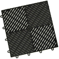 Midnight BlackVented Grid-Loc Tiles™