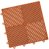 Harley Orange Vented Grid-Loc Tiles™