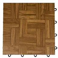 Teak Modular Grid-Loc Tiles™