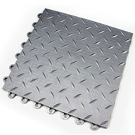 Silver Diamond Ultra-Loc Tiles