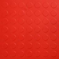 Red 6.5mm Coin Flex Tiles