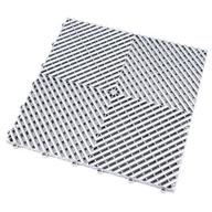 Pearl Silver Ribtrax Tiles