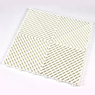 Arctic White Ribtrax Tiles