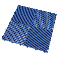 Island Blue Ribtrax Tiles
