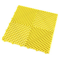 Citrus Yellow Ribtrax Tiles