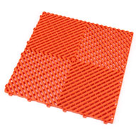 Tropical Orange Ribtrax Tiles