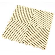 Ivory Ribtrax Tiles