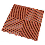 Terra Cotta Ribtrax Tiles
