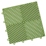 Olive Green Vented Grid-Loc Tiles™