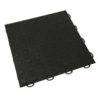 Black Premium Tiles w/ Traction Squares