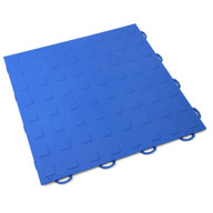 BlueSolid Tiles w/ Raised Squares