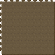 Chocolate 6.5mm Coin Flex Tiles - Designer Series