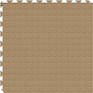 Caramel 6.5mm Coin Flex Tiles - Designer Series