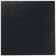 Black Solid Peel & Stick Vinyl Tile