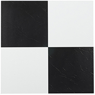 Checkered Solid Peel & Stick Vinyl Tile