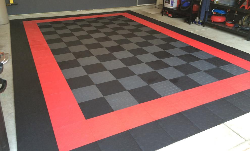 Customer Reviews Nitro Tiles - Gridlock floor tiles