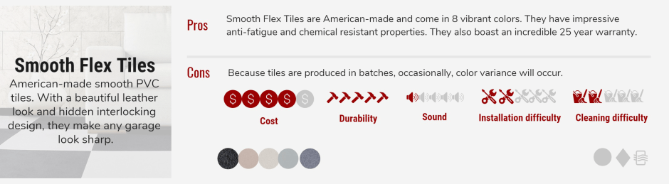 smooth flex tiles