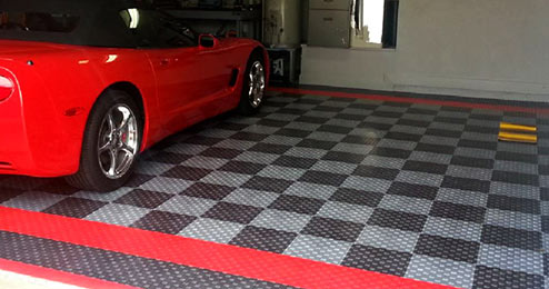 floor product alternative tile cheap garage truelock diamond tiles